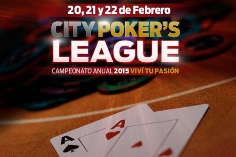 Mañana arranca el City Center Poker League