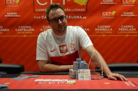 Campeonato de España de Poker 2015: Mikolaj Robert Zawadzki gana in extremis