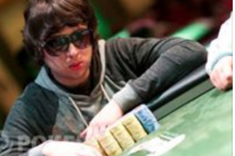 "Luis ""Fizhh"" Montaño como runner up del Sunday Million"