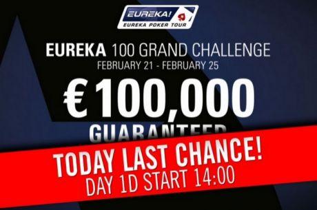 OVERLAY v King´s Casino Rozvadov: Eureka 100 Grand Challenge