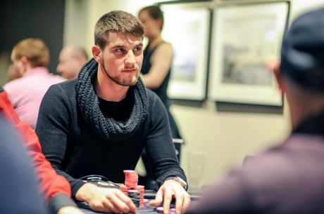 Matas Cimbolas Heater Continues at the 2015 Sky Poker UK Poker Championships