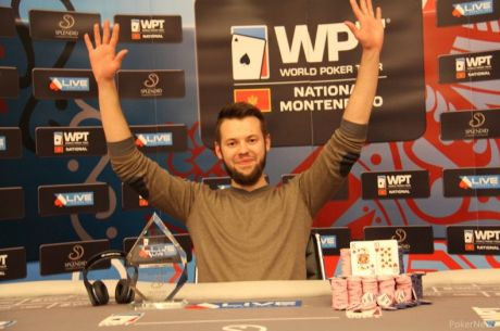 Ruslan Ilinskyi Šampion WPT National Montenegro Main Eventa