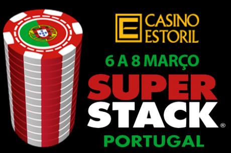 Portugal Super Stack de 6 a 8 de Março no Casino Estoril