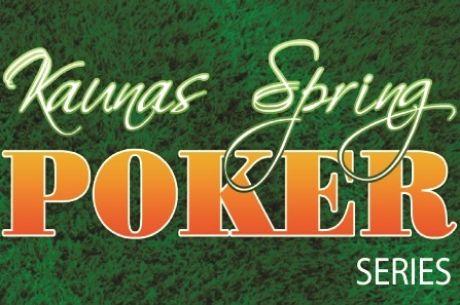 """Į Kauną sugrįžta """"Kaunas Spring Poker Series"""""""