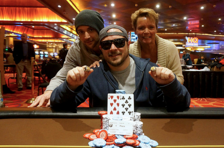 Josh Turner Goes Wire To Wire and Wins WSOP Circuit Lumiere Place
