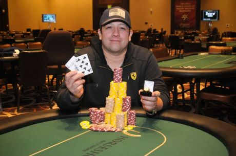 Jesse Mills Wins Largest Poker Event Ever in the State of Maryland for $106,305