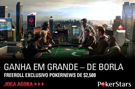 $7,500 em Freerolls Exclusivos na PokerStars