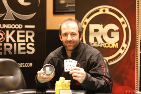 Henry Gingerich Wins 2015 RunGood Poker Series Horseshoe Council Bluffs Main Event