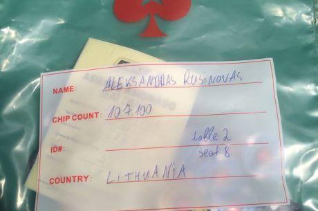 """Aleksandras Rusinovas šauniai startavo LAPT """"High Roller mūšyje"""