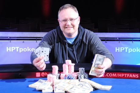 "Reginald ""Shawn"" Roberts Captures Third Heartland Poker Tour Title in Oklahoma"