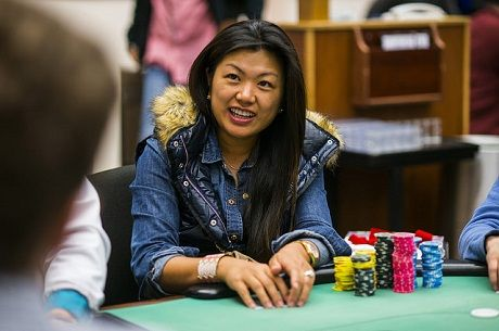 2015 WPT Bay 101 Day 1b: Ladies Event Champ Haixia Zhang Bags the Chiplead