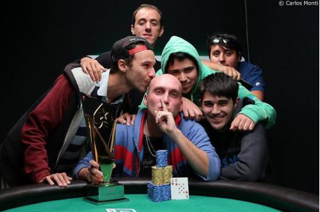 """Francisco """"tomatee"""" Benitez se lleva el High Roller en el LAPT Chile."""