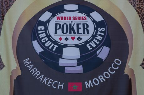 2015 WSOP International Circuit Morocco Day 1a: Frederic Rizzo Leads Advancing 63 Players