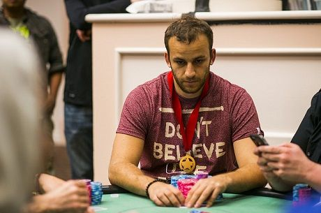 2015 WPT Bay 101 Day 2: Sorel Mizzi and Shawn Buchanan Advance