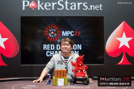 Yuguang Li Slays Macau Poker Cup Red Dragon to Become Champion