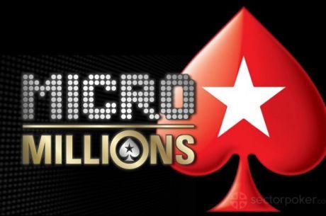 PokerStars MicroMillions sa $5M GTD Počinje 19. Marta