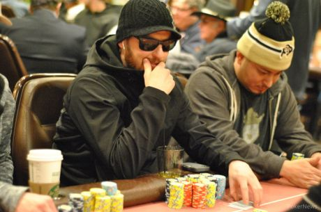 2015 MSPT Golden Gates Casino Day 1b: Jay Robb Bags Monster Lead Among 28 Survivors