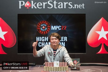 Yuguang Li Wins Red Dragon Main Event and Macau Poker Cup High Roller Within 24 Hours