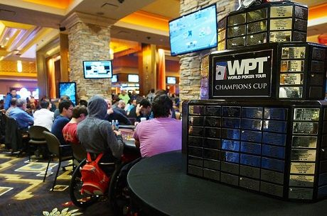2015 WPT Rolling Thunder Day 1a: Erik Cajelais Carries the Flag