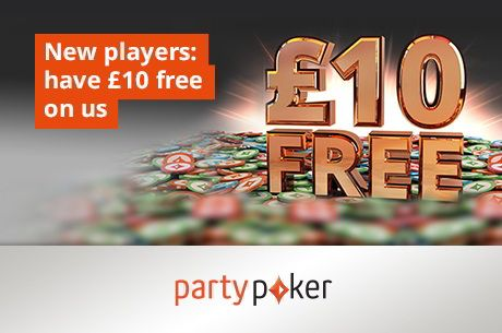 partypoker Wants to Give You a Free £10 (No Deposit Required!)