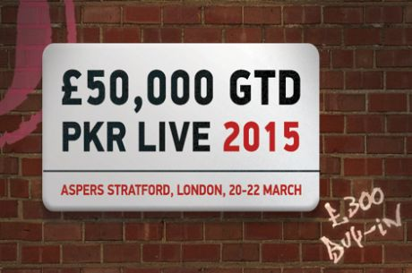 PKR Live Heads to Aspers Stratford on March 20