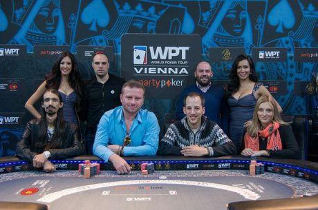WPT Vienna: Sledujte live stream z finálového stolu
