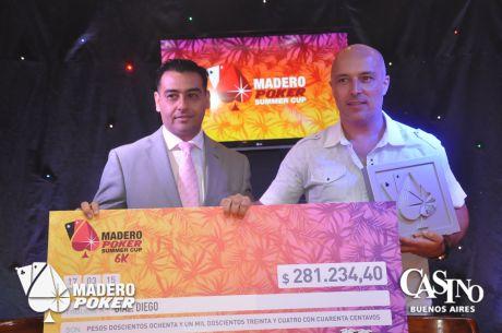 Diego Díaz fue el campeón de la última Summer Cup 6K del año