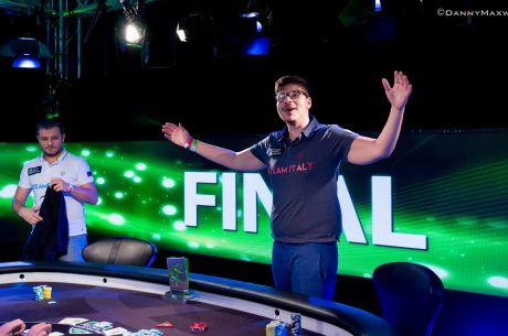 Global Poker Masters : L'Italie championne du monde de poker devant la Russie et les USA