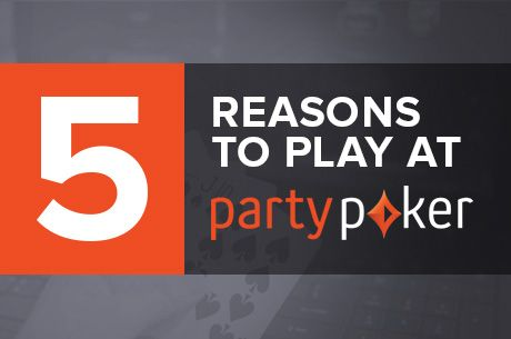 5 (Quite Good) Reasons to Play at partypoker