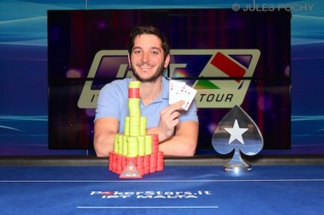 Georgios Zisimopoulos Wins Italian Poker Tour Malta Main Event for €142,205