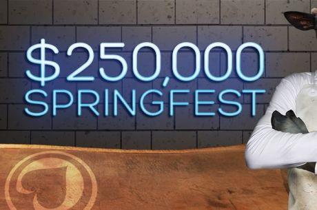 $250,000  PKR Springfest  фестивал с 33 турнира започва на 27 март