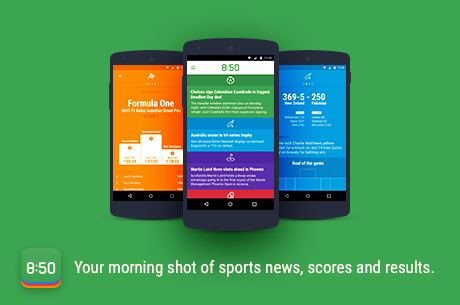 Love Sports? Then You'll Love the 850 Sports News Digest App