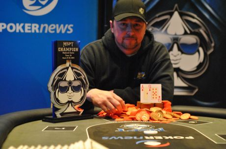 Chad Willett Battles Big Momentum Change To Win Mid-States Poker Tour Meskwaki