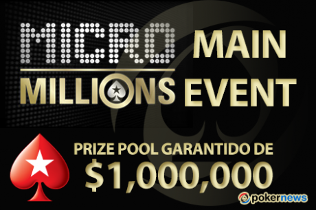 Main Event MicroMillios X: TeixeiraDiog 11º ($5,857); Vitória p/ o Canadá