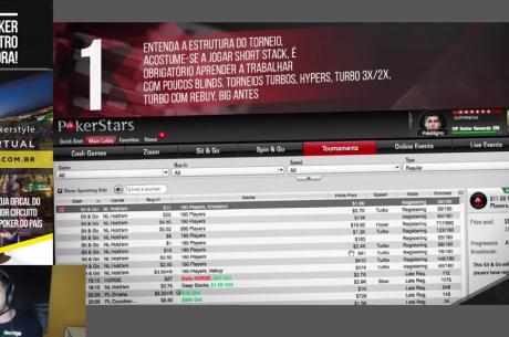 5 Passos para Vencer um Torneio Turbo (Sessão ao Vivo) por Caio Pessagno