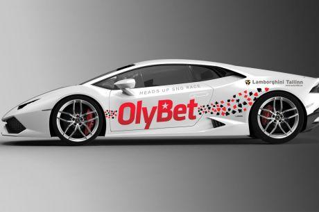 OlyBet saadab ühe pokkerimängija Lamborghiniga kihutama