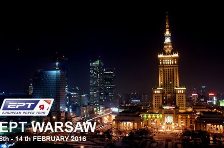 European Poker Tour wraca do Polski - EPT Warszawa w lutym przyszłego roku!