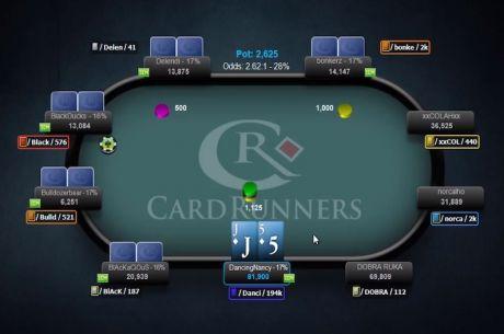 """CardRunners video: John """"DrewPeacoq8"""" Gonzalez o vlivu výše stacku na hru (1. díl)"""
