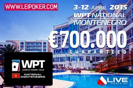 WPT National Montenegro sa €700.000 GTD je Počeo!