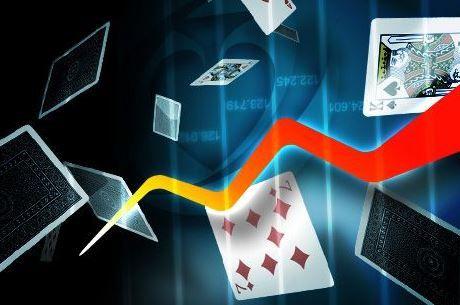 Трафикът при кеш игрите в dot.com онлайн покер залите...