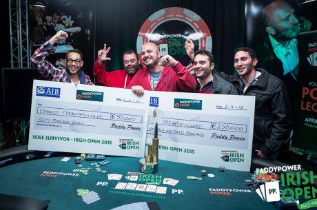 2015 Irish Poker Open: Triantafyllakis Victorious for €209,500 and an Epic Slowroll