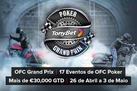 GRÁTIS: Joga um Torneio de Open-Face Chinese Poker com €1,500 GTD