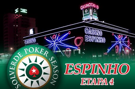 Solverde Poker Season Etapa 4: 10 a 12 Abril em Espinho