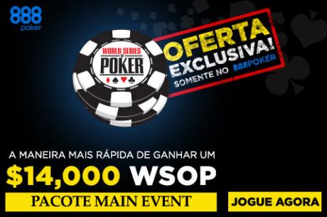 Joga o Main Event WSOP 2015 de Borla com a 888poker!