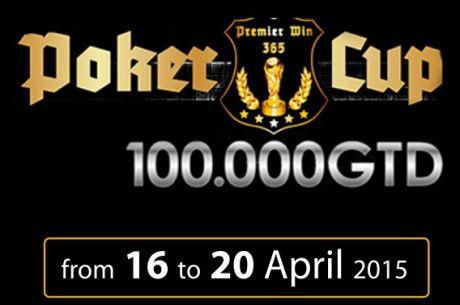Premier Poker Cup 330€ sa 100.000€ GTD u Novoj Gorici od 16. do 20. Aprila