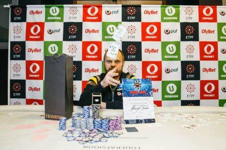 EMV põhiturniiri võitis pokkeriproff Kaupo Tenno