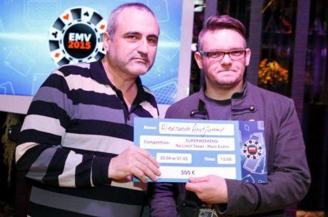 EMV aasta mängijaks tuli Arutjunov, klubidest parim PokerNews