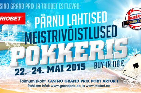 Täna algab Triobetis kvalifitseerumine Pärnu lahtistele meistrivõistlustele