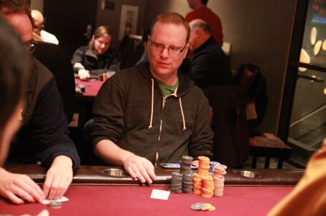 2015 MSPT Maryland Main Event: Po dni 1b ve vedení Adam Friedman