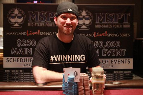 Greg Himmelbrand Wins 2015 MSPT Maryland Live! Casino Main Event
